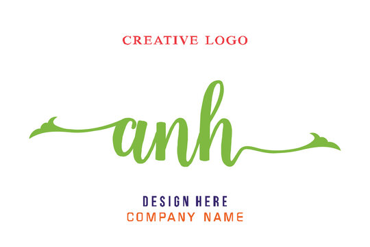 ANH lettering logo is simple, easy to understand and authoritative