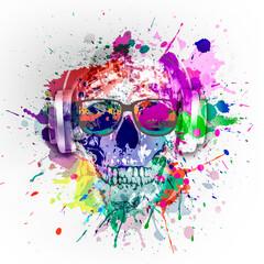 skull with a skull and crossbones