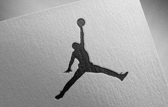jordan-2_1 on paper texture