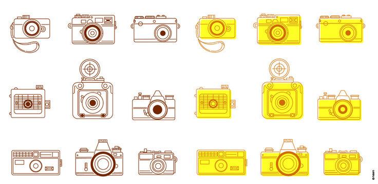 클래식 카메라 아이콘