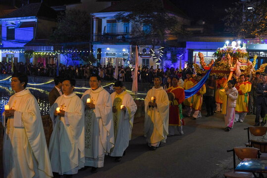 Christmas Eve celebration in Vietnam