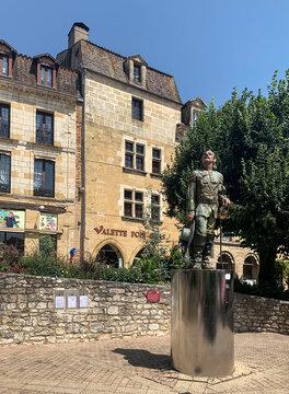 Statue of Cyrano. Bergerac, France