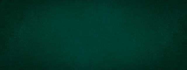 Dark green stone concrete paper texture background banner panorama