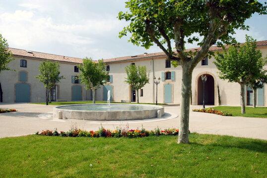 Ville de Gémenos, département des Bouches-du-Rhône, France