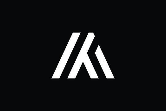 MT logo letter design on luxury background. TM logo monogram initials letter concept. MT icon logo design. TM elegant and Professional letter icon design on black background. M T TM MT