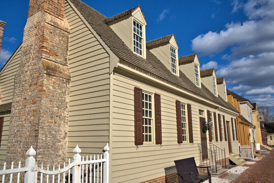 Old Colonial Homes