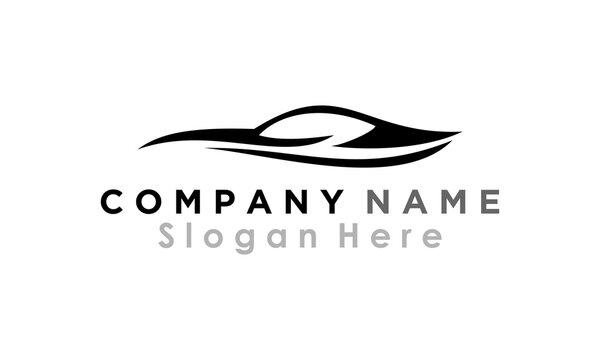 car logo icon silhouette