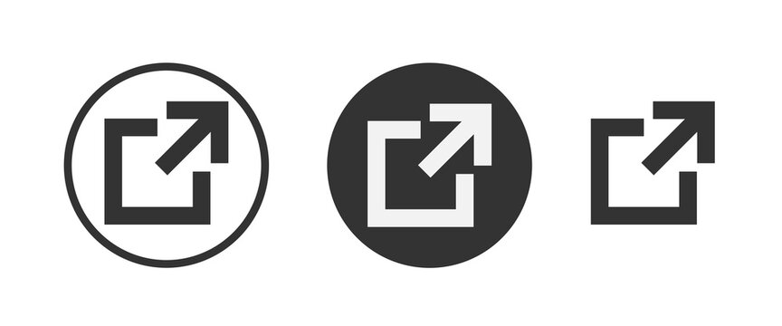 external icon . web icon set . icons collection. Simple vector illustration.