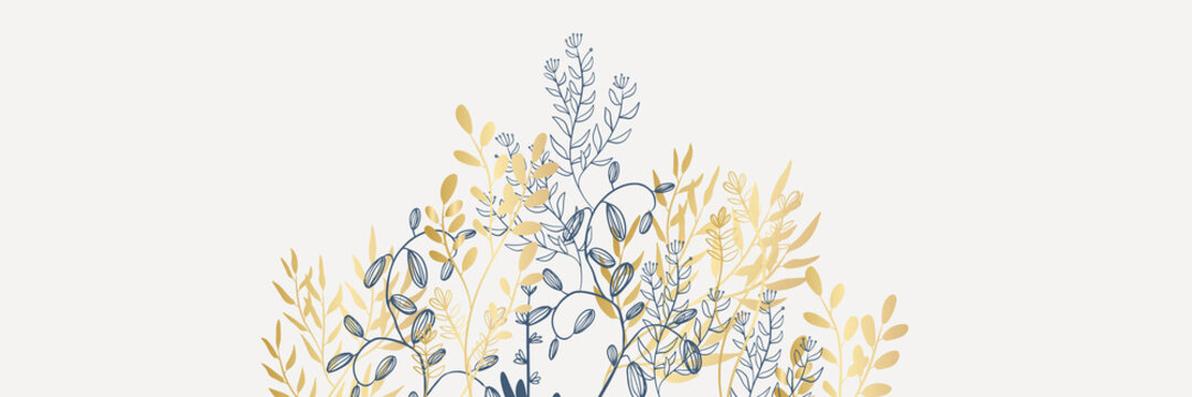 Tropical flowers leaves border seamless pattern in sketch style on white background - hand drawn exotic blooms of floral, protea, magnolia and plumeria with colorful line contour. Vector illustration