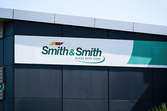 AUCKLAND, NEW ZEALAND - Jan 27, 2020: Smith and Smith autoglass store
