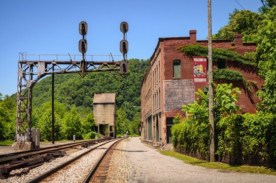 Thurmond Ghost Town at New River Gorge National Park and Preserve