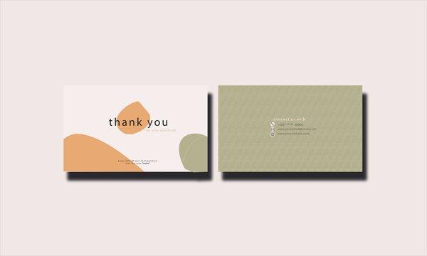 Greetings Card Design template