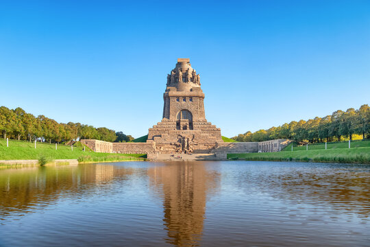 Monument to the Battle of the Nations (Volkerschlachtdenkmal) built in 1913 for the 100th anniversary of the battle, Leipzig, Germany