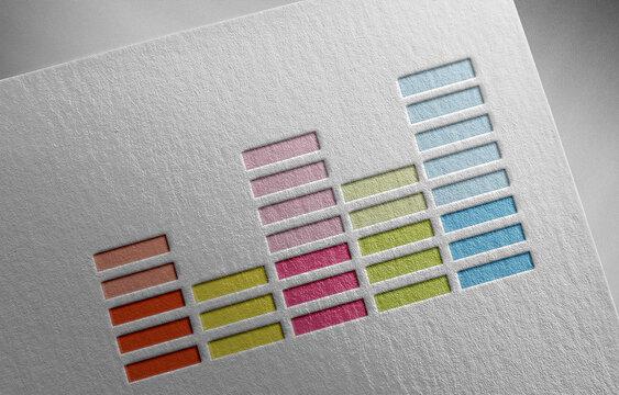 deezer on paper texture