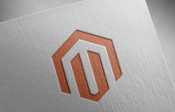 magento-2 on paper texture