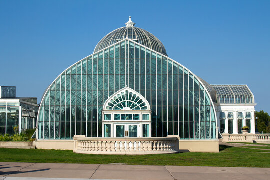 Marjorie McNeely Conservatory at the Como Park Zoo and Conservatory on September 2, 2017, in St. Paul, Minnesota