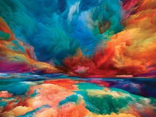 Obraz Way of Heaven and Earth - fototapety do salonu