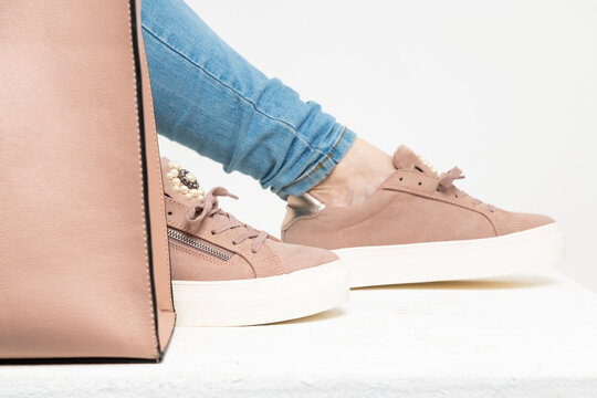modern women's shoes in spring colors