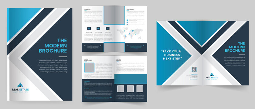 Corporate Business Brochure template design, Company Profile, Anual Report,