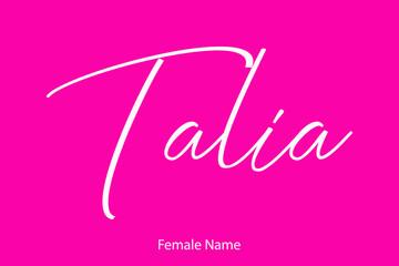 Obraz Woman's name
