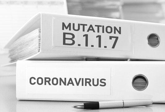 The new english variant/mutation of corona virus B.1.1.7 - concept