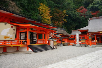 Kumano Nachi Taisha or Shrine in Wakayama, Japan