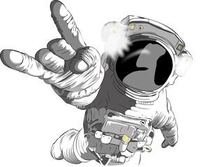 Obraz Astronauta - fototapety do salonu