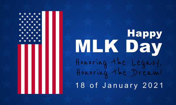 Martin Luther King Jr. Day, MLK  background, poster, card