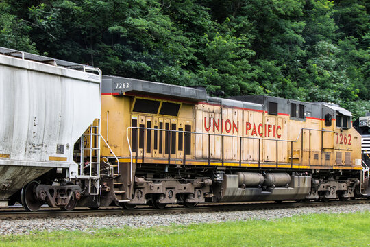 Union Pacific Corporation (UNP) freight train taken in Altoona PA on August 6th 2017