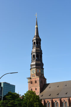 St Katharinen Kirche in hamburger speicherstadt, deutschland
