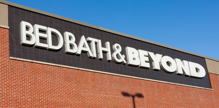 Dartmouth, Canada - August 31, 2016: Bed Bath & Beyond retail outlet. Bed Bath & Beyond  is a chain of retail stores in the United States, Canada and Mexico.
