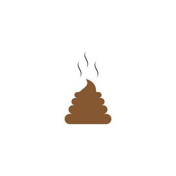 shit Logo Template vector icon
