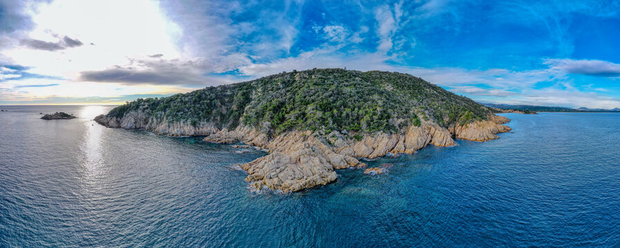 Cap taillat in the south of France