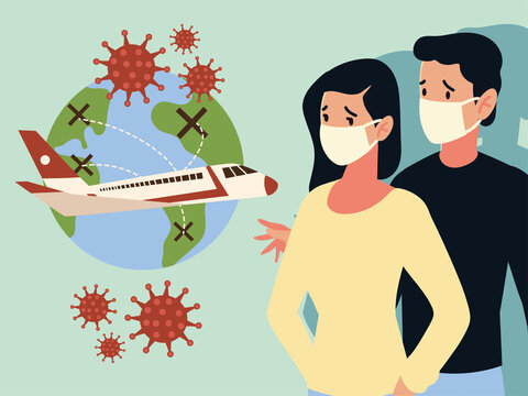 crisis airline and travel tourism business from the outbreak of the disease coronavirus covid 19