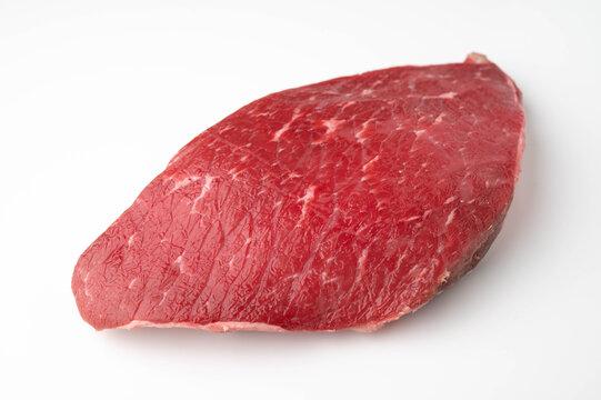 Flank steak, London Broil, Jiffy steak on white background