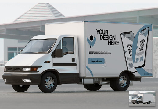 Mock Up of a Truck