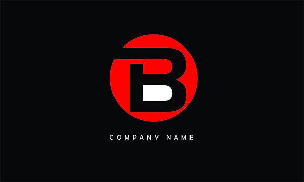 B, B Abstract Letter Logo Monogram