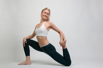 Dünn frau sehr Muskelaufbau bei