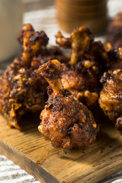 Homemade Deep Fried Chicken Lollipops