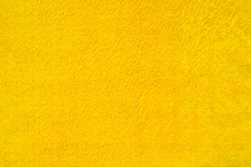 Close-up light yellow suede fabric Velvet texture.
