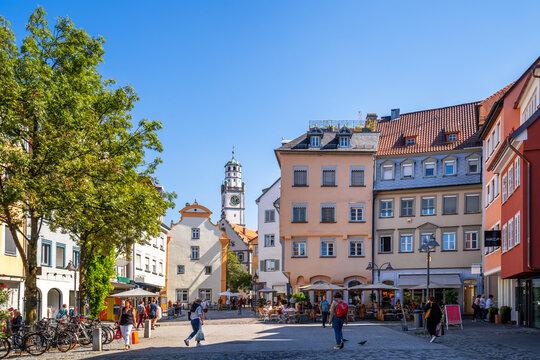 Bachstrasse, Ravensburg, Baden-Württemberg, Deutschland