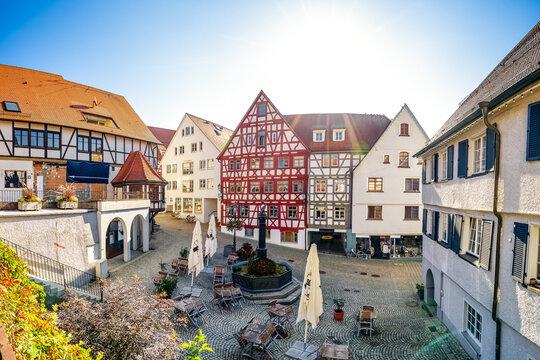 Altstadt, Pfullendorf, Baden-Württemberg, Deutschland