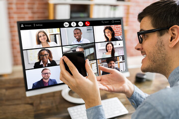 Corporate Team Building Activity Using Video Conferencing