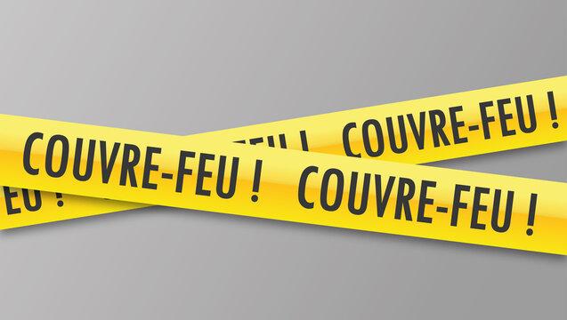 Logo couvre-feu.