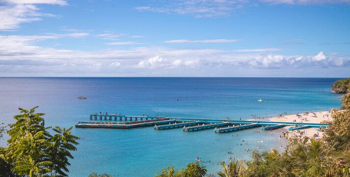 Paradise place in Puerto Rico, Crash Boat Beach
