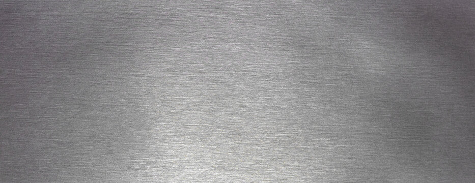Silver metal texture for banner or background