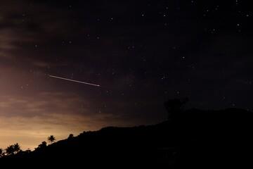Obraz Low Angle View Of Stars At Night - fototapety do salonu