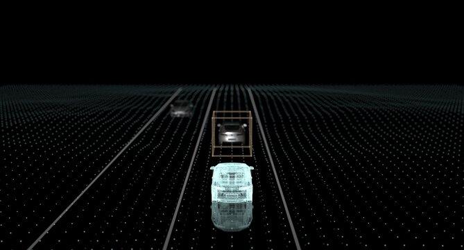 Autonomous Driverless Self Driving Vehicle With Lidar Technology