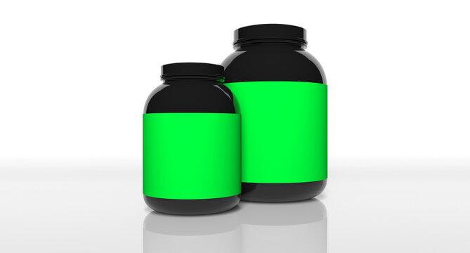 Bottle Jar Product Mockup