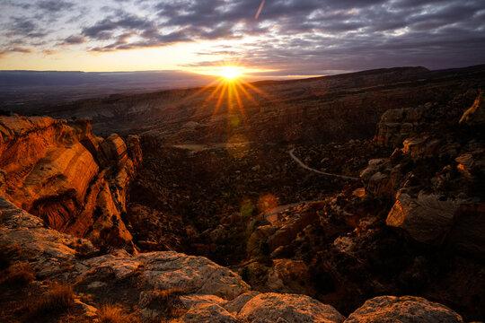 Colorado National Monument - Sunrise